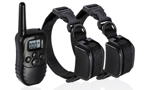 1 or 2 Rechargeable Dog-Training Collars
