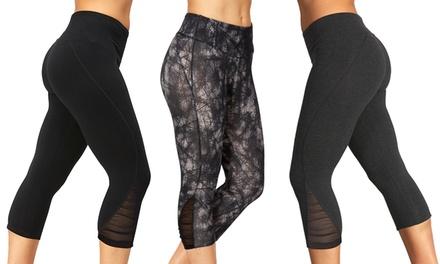 Marika Women's Posture- and Tummy-Control Mesh Leggings
