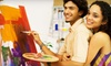 The Wine & Easel - Brentwood: Day or Night BYOB Painting Class at The Wine & Easel in Brentwood (Up to 52% Off)