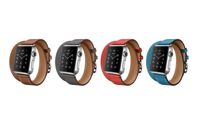 MARGOUN GENERAL TRADING: Double Wrap Replacement Band for Apple Watch from AED 89.00 (Up to 68% Off)