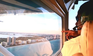 Go Fly Tours: Sunny Isles Plane Tour or Sunrise Plane Tour for Two from Go Fly Tours (Up to 32% Off)