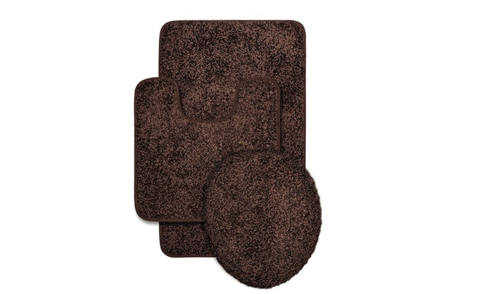 Bathroom-Rug Set (3-Piece) | Groupon Goods