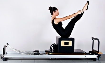 5 or 10 Pilates Reformer Classes at Pilates Plus (Up to 61% Off)