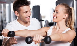 Cutting Edge Fitness Inc: Two or Four Personal Training Sessions at Cutting Edge Fitness (Up to 70% Off)