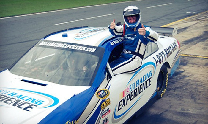 NASCAR Racing Experience - Charlotte Motor Speedway: Three-Lap or Three-Hour Racing Experience from NASCAR Racing Experience at Charlotte Motor Speedway (Up to 51% Off)