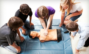 $70 For An American Heart Association First-aid, Cpr, And Aed Class ($140 Value)