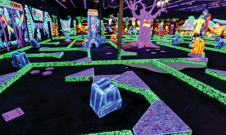$18 for Four Rounds of Indoor Miniature Golf at Monster Mini Golf (Up to $36 Value)