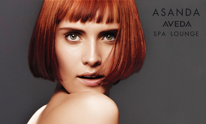One Or Three S For Existing Asanda Aveda Spa Lounge Customers Up To 53 Off Six Options