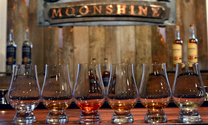 Onyx Spirits Company - Onyx Spirits Company: 1920's Themed Moonshine Distillery Tasting for Two or Four at Onyx Spirits Company (44% Off)