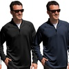 Adidas Men's 1/4-Zip French Terry Jacket