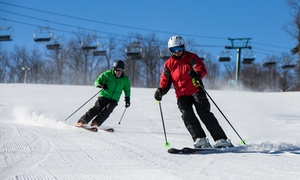 Sourced Adventures: $125 for Skiing/Snowboarding Trip w/ Equipment Rental and transportation from Sourced Adventures ($157Value)