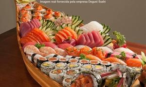 Degust Sushi: Degust Sushi – Jardim Guanabara: combinados japonês para 2 ou 4 pessoas
