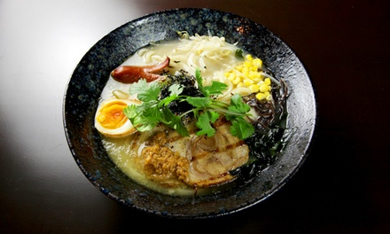$18 for $30 Worth of Japanese Udon and Sushi at Oolong Noodles