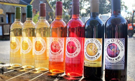 Winery Tour with Tasting Session and Bottle of Wine to Share for Two or Four at Cairn O' Mohr (Up to 63% Off)