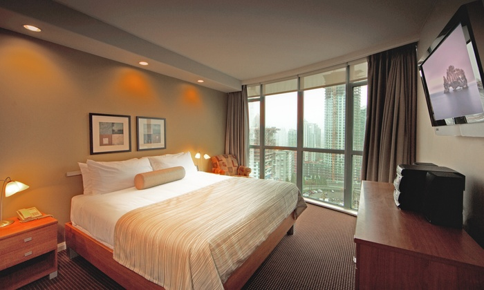 executive hotel vintage park in vancouver bc. Black Bedroom Furniture Sets. Home Design Ideas