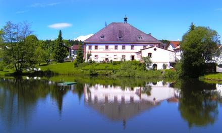 Bayerischen Wald: 4, 5 oder 8 Tage für Zwei mit Halbpension, Saunanutzung und Gästekarte im Seehotel Hohenau