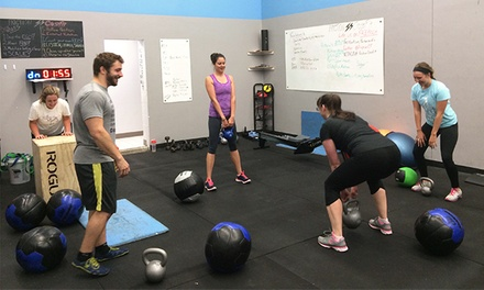One or Two Months of Unlimited CrossFit Classes at Friction CrossFit (Up to 72% Off)