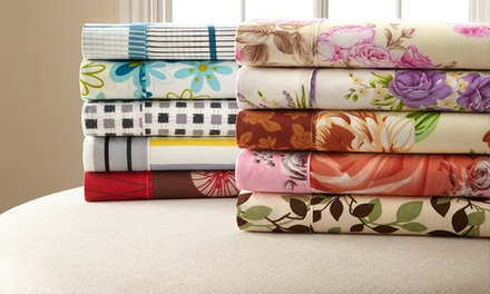 Palazzo Home Microfiber Assorted Printed Sheet Sets from $19.99-$26.99