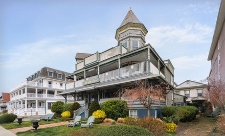 1- or 2-Night Stay for Two in a Premium or Contemporary Queen or Double Room at The Majestic Hotel in Ocean Grove, NJ