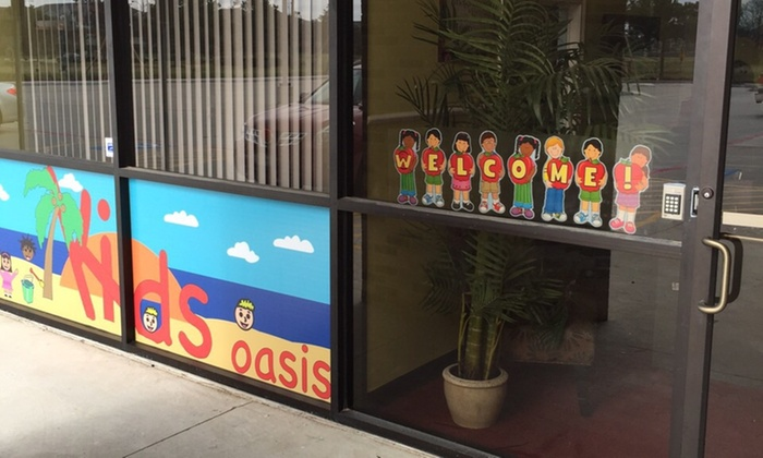 Kids Oasis - Houston: Four Weeks of Preschool Childcare from Kids Oasis (45% Off)