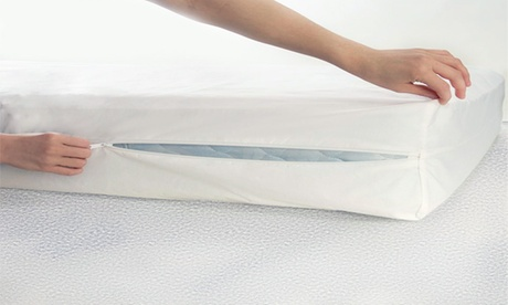 Mattress Protector or 2-Pack Pillow Protectors with Complete Coverage 4df34210-e19d-11e6-8504-00259060b5da