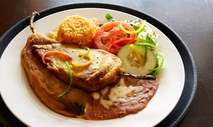 El Aguila Bar & Grill: Latin Food and Drinks for Two or Four at El Aguila Bar & Grill (Up to 55% Off)