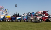 Truckfest North West Day Ticket for a Child (£5), Adult (£13) or a Family (£31), 17–18 September at Cheshire Showground