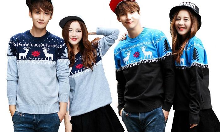 Unisex Christmas Sweaters   Groupon Goods