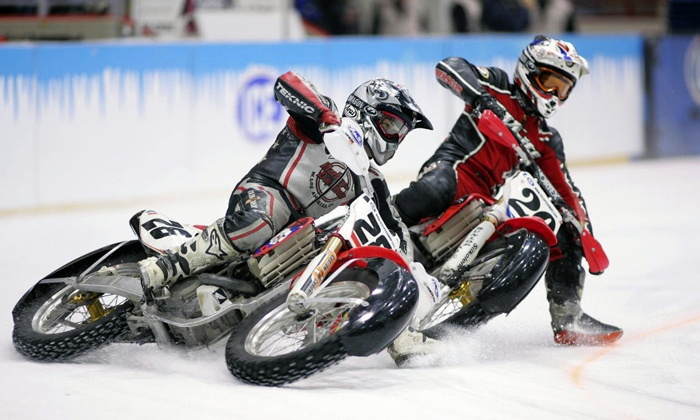 X-treme International Ice Racing - Comcast Arena: $10 to See X-Treme International Ice Racing at Comcast Arena at Everett on February 7 at 7:30 p.m. ($23.50 Value)