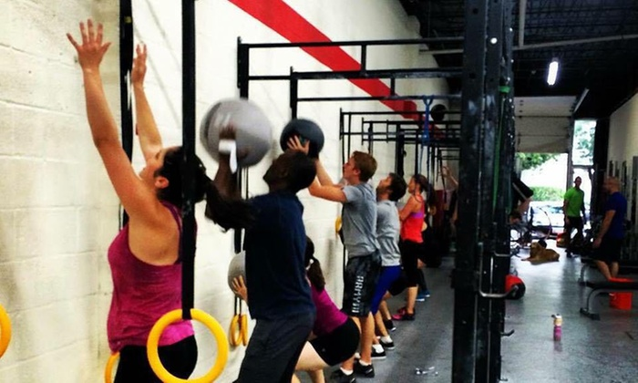 Tough Temple Crossfit - Multiple Locations: Five CrossFit Classes at Tough Temple Crossfit (78% Off)