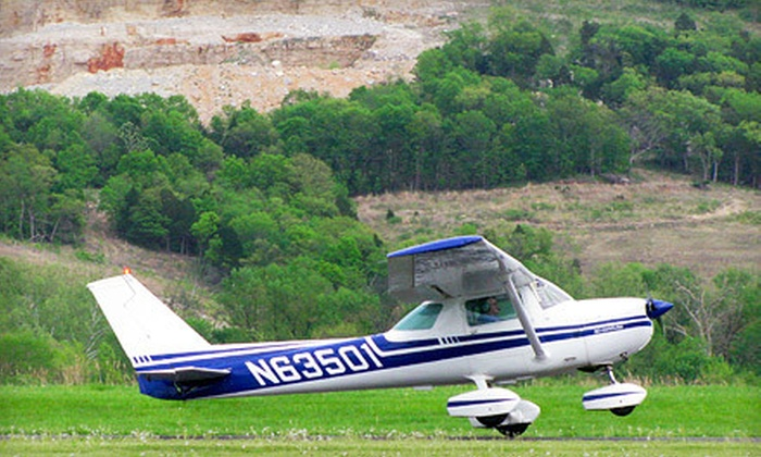 Festus Airport - Herculaneum: $50 for an Introductory Flight Lesson with 45 Minutes of Flight Time from Festus Airport ($100 Value)