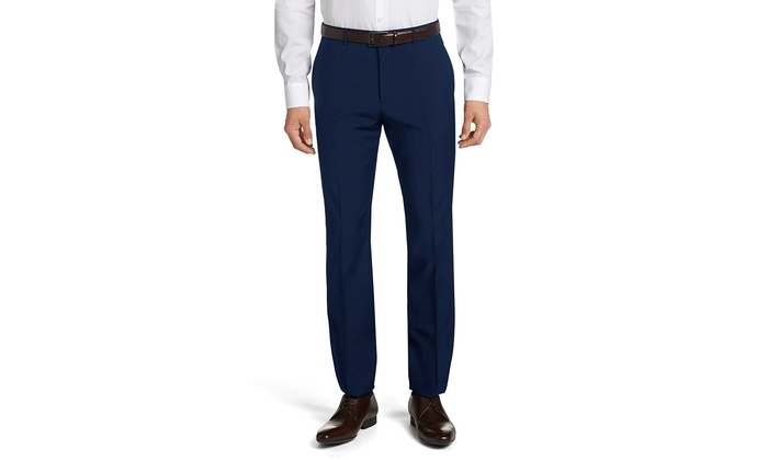 Bernardi Slim-Fit Dress Pant (Sizes 30x32)