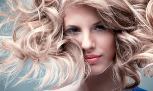 Cut, Style, And Conditioner With Option For Color, Or California Waves At The Red Poppy Salon (up To 55% Off)
