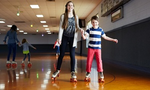 Roller-Skating Package for 2, 4, or 6, or a Birthday Party for Up to 10 at Skate America (Up to 58% Off)