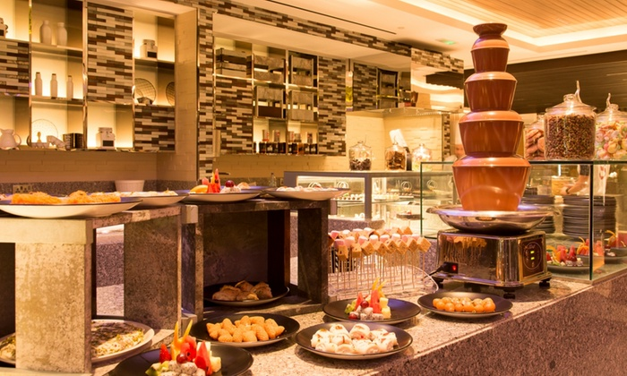 Breakfast, Lunch or Dinner Buffet for One, Two or Four at Latest Recipe at 4* Le Meridien Abu Dhabi