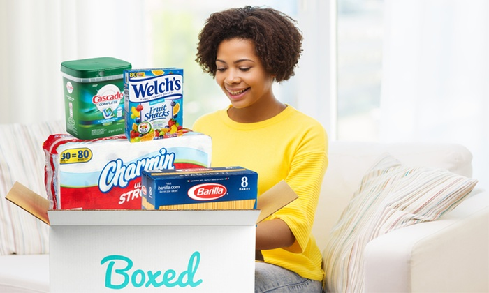 Boxed: $75 for $100 Worth of Wholesale Groceries, Household Items, and Personal-Care Products plus Free Shipping from Boxed