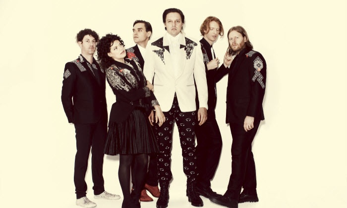 Arcade Fire: Reflektor Tour - Aaron's Amphitheatre at Lakewood: $24.75 for Arcade Fire: Reflektor Tour at Aaron's Amphitheatre at Lakewood on Friday, May 2 (Up to $33 Value)