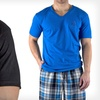 $7.99 for an Equipo Men's Solid V-neck Tee