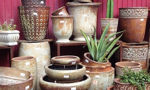 Jackalope Pottery: $25 for $50 Worth of Home and Garden Accessories at Jackalope Pottery in North Hollywood