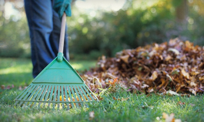 Jaques Lawn Care - Des Moines: Curbside Leaf Pickup or Two, Four, or Six Hours of Fall Yard Cleanup from Jaques Lawn Care (Up to 63% Off)