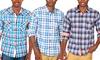 Something Strong Men's Slim-Fit Plaid Shirts