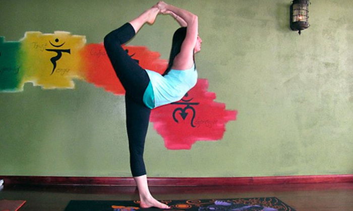Yoga Flow - Multiple Locations: $49 for One Month of Unlimited Hot-Yoga Classes at Yoga Flow (Up to $99 Value)
