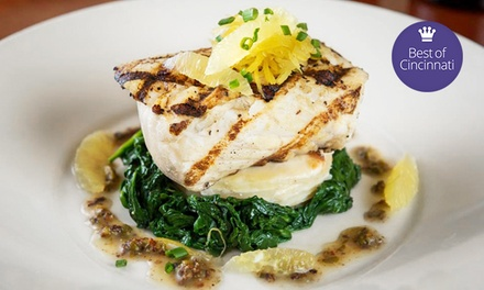 $22 for $40 Worth of Upscale Contemporary American Cuisine for Dinner at Trio Bistro