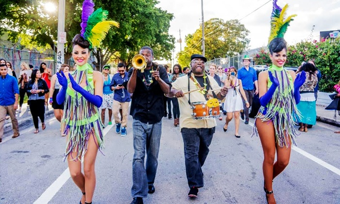 Mardi Gras Crawl by Keep Crawling - SHOTS Miami: General or VIP Admission for One or Two to Mardi Gras Crawl by Keep Crawling (Up to 57% Off)