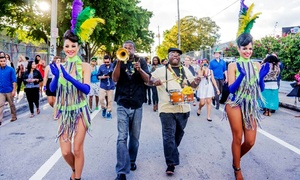 Mardi Gras Crawl by Keep Crawling: General or VIP Admission for One or Two to Mardi Gras Crawl by Keep Crawling (Up to 57% Off)