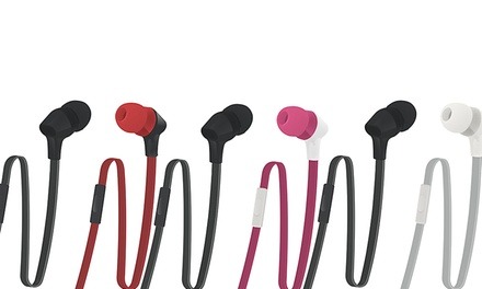 2 Pairs of Case Logic Stereo Earbuds with Universal Mic