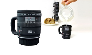 Into Focus Camera-lens Mugs