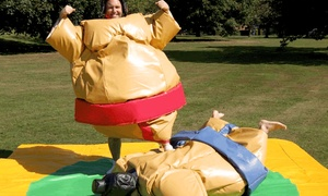 The Hawaii Party Rentals: Inflatable Sumo Wrestling Suits or Inflatable Boxing Ring Rental from The Hawaii Party Rentals (50% Off).