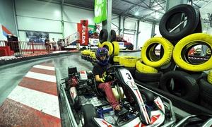 S-KART Tor Kartingowy: Gokarty: 8-minutowy przejazdy (19,99 zł) lub organizacja wyścigu (299,99 zł) i więcej opcji w S-KART Tor Kartingowy