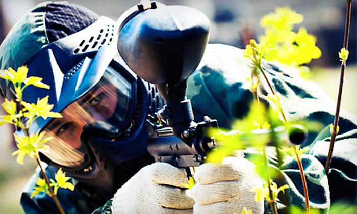 Blackwater Paintball - Pavo-Barwick: $30 for an All-Day Paintball Package with Equipment Rental and Paintballs for Two at Blackwater Paintball ($70 Value)